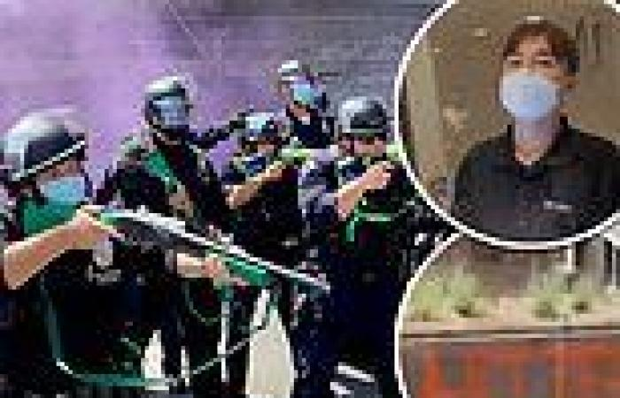 LAPD orders crowd to disperse during protests over transgender rights at ...