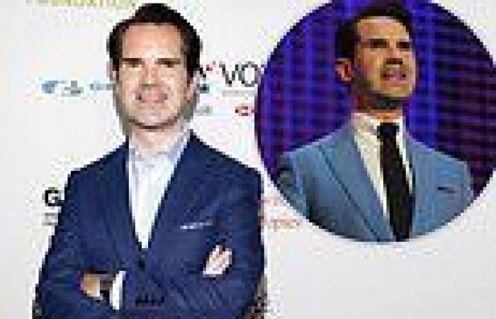 Jimmy Carr claims a 'dodgy joke' he has already told will spell the end of his ...