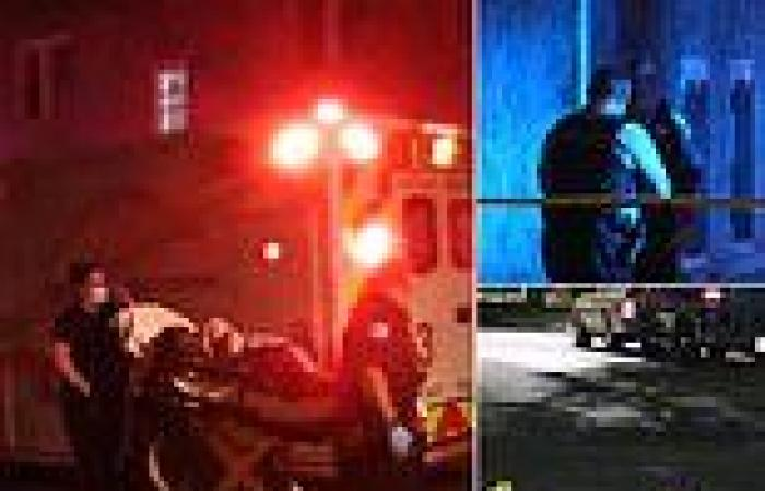4 kids 2 adults are shot in drive-by attack at party in another weekend of gun ...