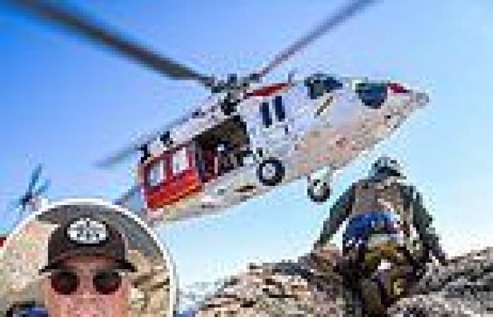 Navy crew survives helicopter crash while searching for a missing hiker in ...