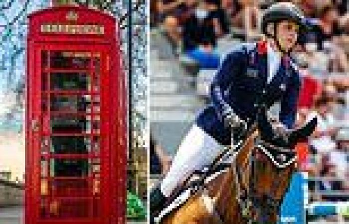 sport news A dozen horses, 40,000 TEA BAGS and a telephone box! The items shipped to Tokyo ...