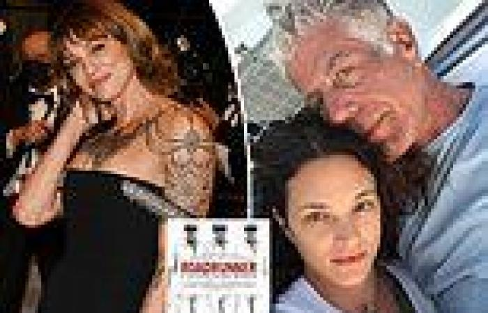 Asia Argento at Cannes Film Festival the same day documentary about Anthony ...