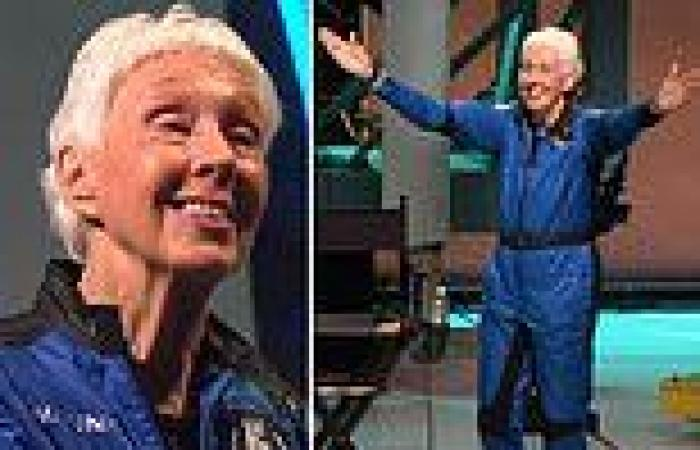 Wally Funk, 82, announces she wants to return to space as soon as possible