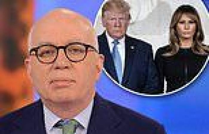 Author Michael Wolff reveals he dined with 'happy couple' Donald Trump and ...