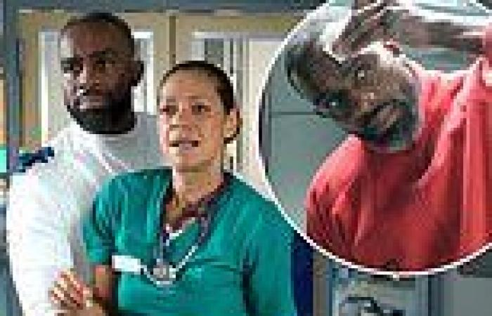 Casualty is slapped with a warning to viewers that it contains 'racist language ...