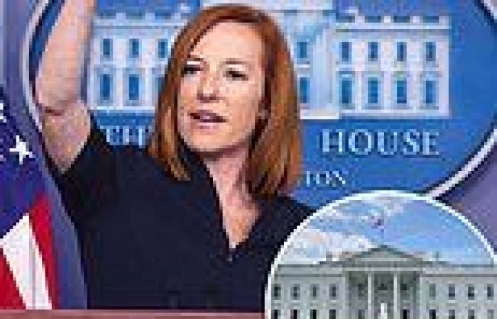 Psaki swipes at reporter, says White House won't release records on White House ...