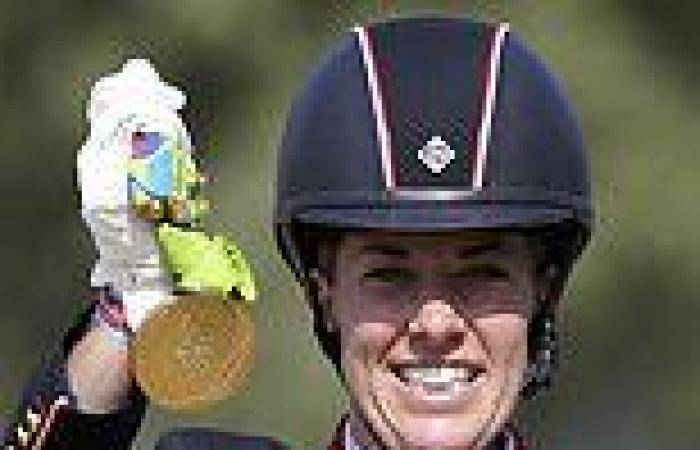 sport news From Rio to Gio: Charlotte Dujardin targets fourth Olympic gold in the dressage ...
