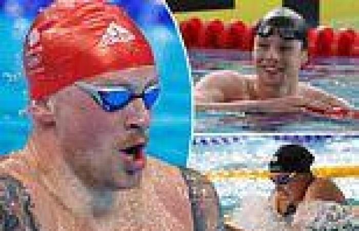 sport news Team GB swimmers want to make a splash in Tokyo this summer by breaking 1908 ...