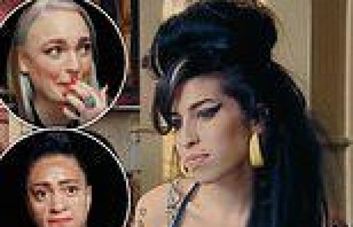 Amy Winehouse's best friends break down watching old clip of the singer