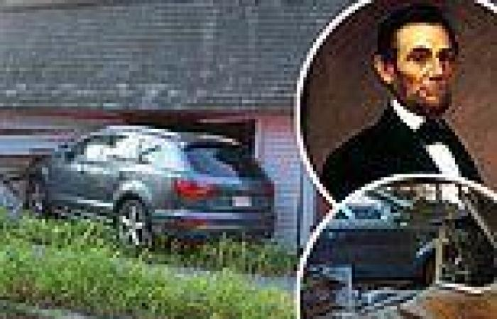 Driver who crashed into ancestral home of Abraham Lincoln says she swerved to ...
