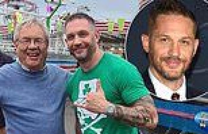 Tom Hardy shocks fans as he visits Barry Island Pleasure Park