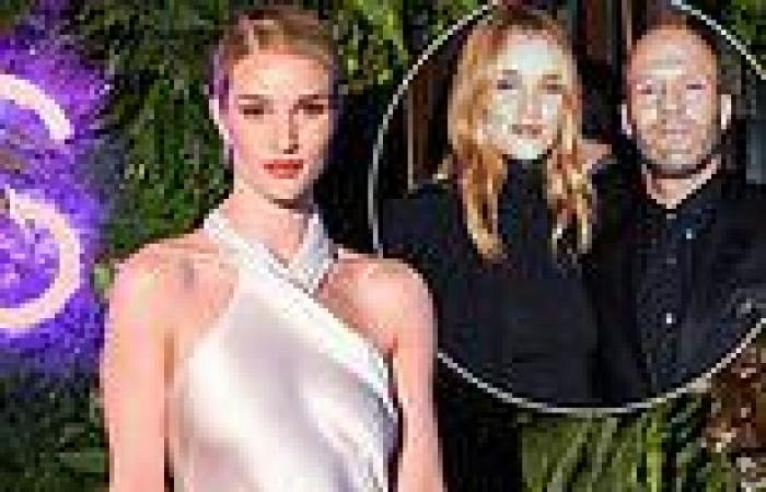 TALK OF THE TOWN: How Rosie Huntington-Whiteley is flogging her old clothes for ...