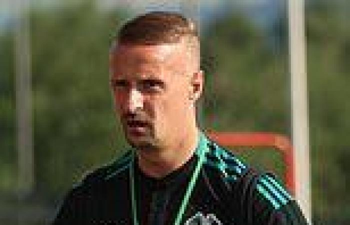 sport news Celtic manager says Leigh Griffiths can win  fans back after he was booed after ...