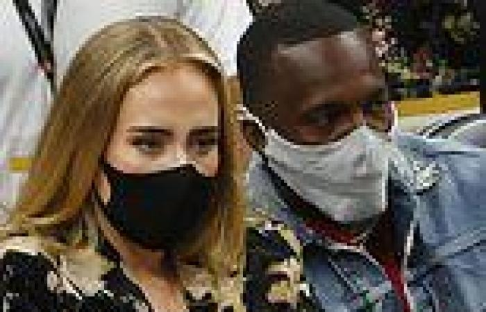 Adele CONFIRMS new romance with Rich Paul as they are spotted packing on the ...