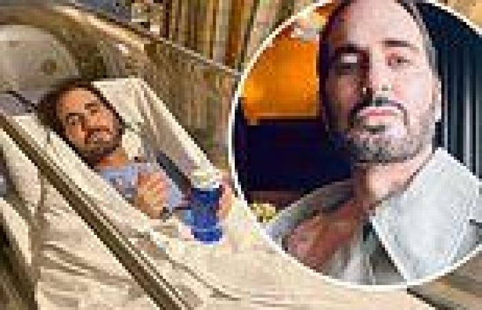 Marc Jacobs shares a selfie of hisnew face just 'three days after' undergoing ...