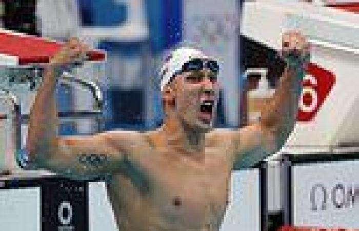 sport news Tokyo Olympics: Chase Kalisz wins 400m individual medley with Team GB's Max ...