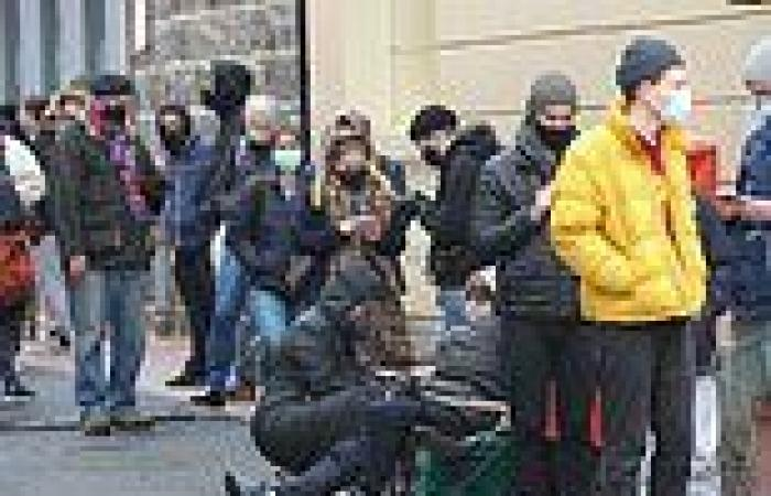 Victorians are forced to wait yet another day to know if Covid lockdown will ...