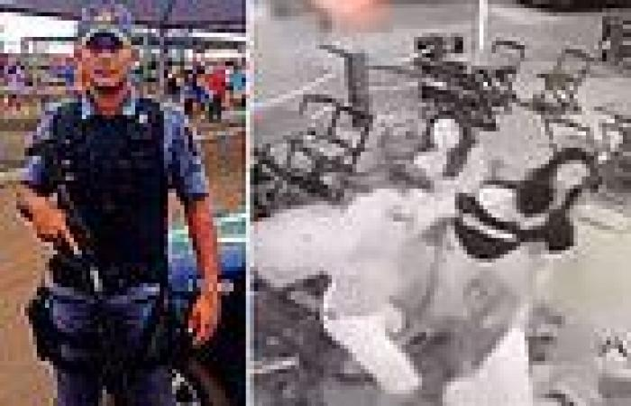 Brazilian police officer, 31, is beaten to death in bar following 'argument ...