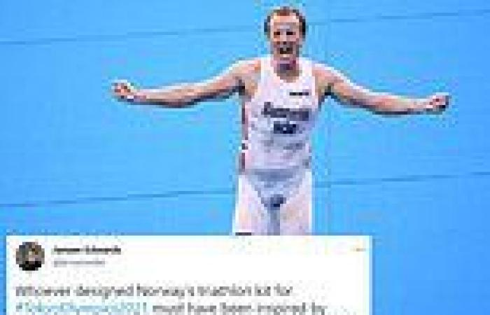 sport news Tokyo Olympics: Norway's triathlon hero Kristian Blummenfelt's kit raises ...