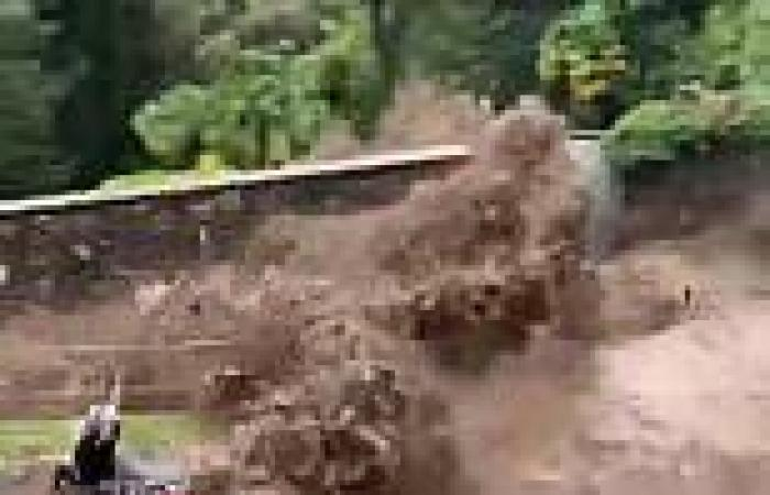 Torrential rain triggers landslides and flooding in northern Italy sending ...