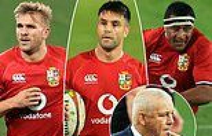 sport news Warren Gatland makes three changes for second British & Irish Lions Test