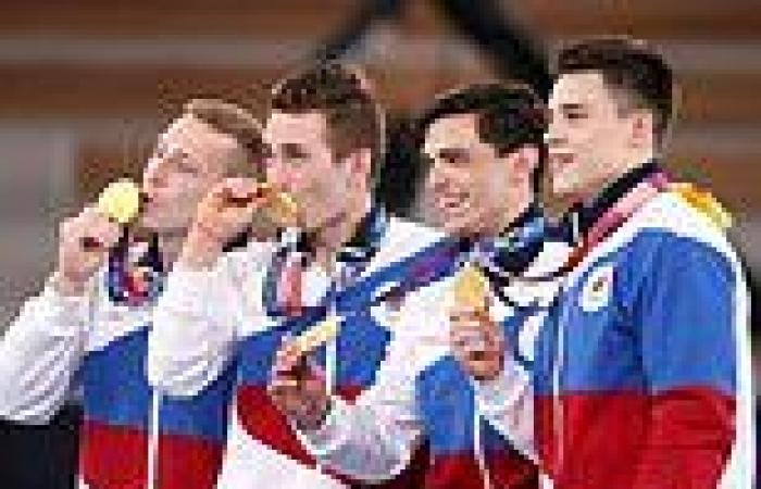 Ban? What ban? Russian athletes leap into third spot in the Olympic medal table ...