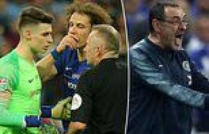 sport news Kepa Arrizabalaga apologises to Maurizio Sarri for Carabao Cup final ...