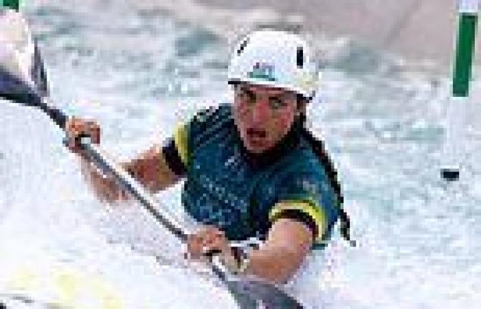 Jess Fox wins bronze in the K1 canoe slalom final at the Tokyo Olympics