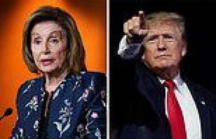 Donald Trump criticizes Nancy Pelosi on eve of first riot committee hearing