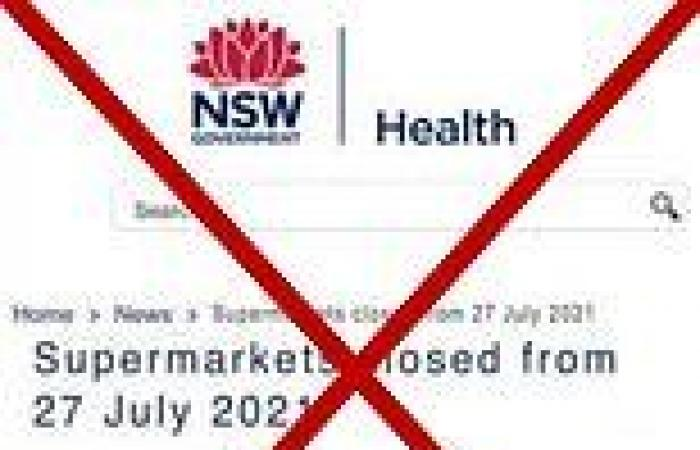 Coronavirus Australia: NSW Health hits out at fake update that declared ...