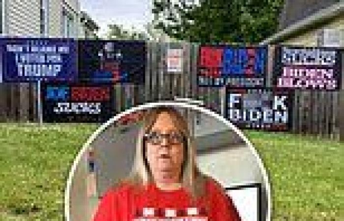 Court allows New Jersey woman to keep 'F**k Biden' sign local judge orders ...