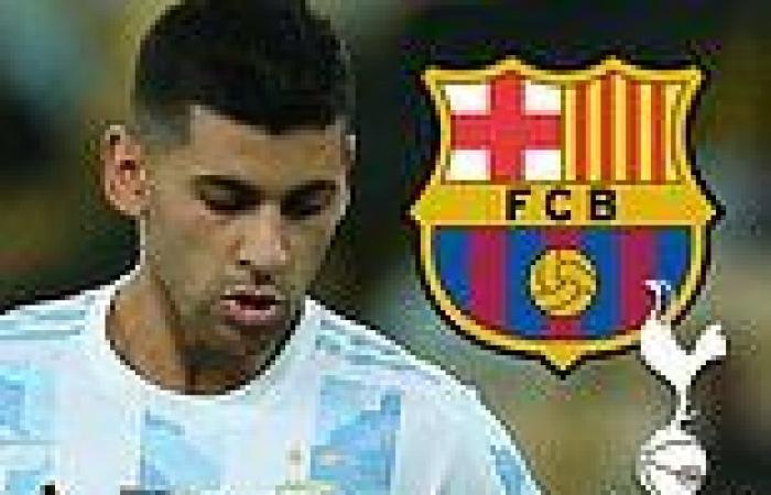 sport news Barcelona 'ready to hijack Tottenham's £42m pursuit of Cristian Romero'