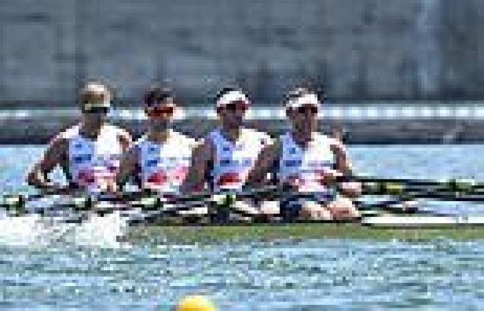 sport news Tokyo Olympics: Team GB win silver in the rowing men's quadruple sculls