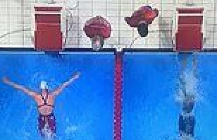 Tokyo Olympic swimming timing system under fire with four dead heats