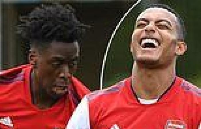 sport news Arsenal's Albert Sambi Lokonga produces commanding display: FIVE things we ...