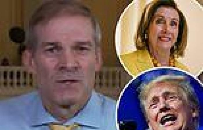 Jim Jordan admits he spoke with Donald Trump on January 6 but refuses to say ...