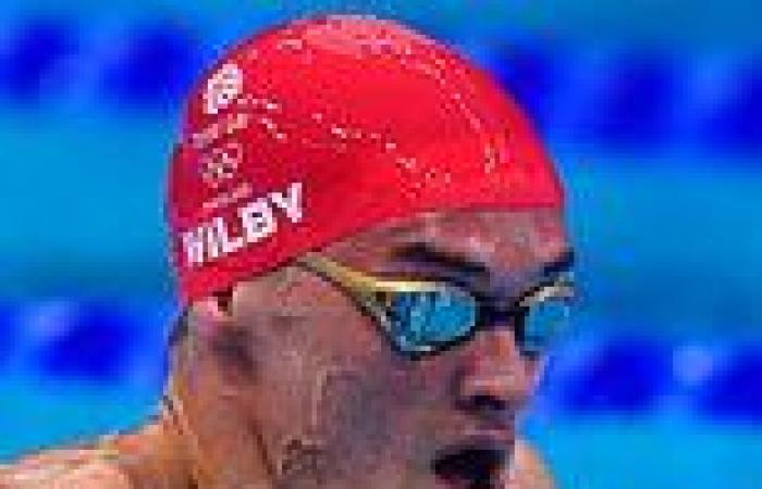 sport news James Wilby disappointed he could not win a medal in 200m breaststroke final ...