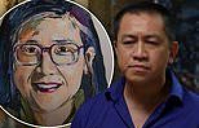 How Anh Do was caught out preparing a portrait of Kylie Kwong BEFORE their ...
