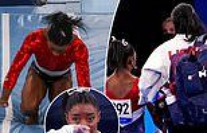 Simone Biles thanks fans for 'love and support' after her shock withdrawal at ...