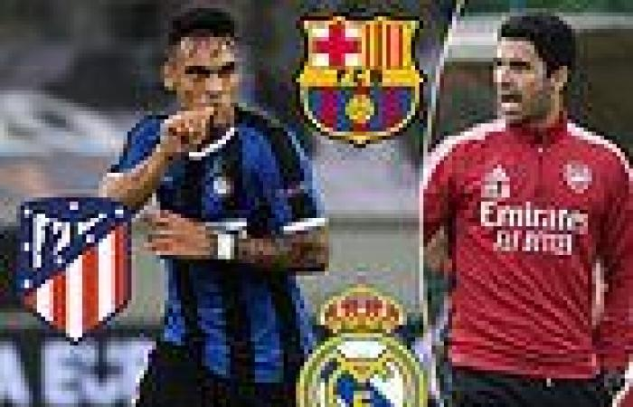 sport news Arsenal target Lautaro Martinez 'only interested in Real Madrid, Barcelona or ...