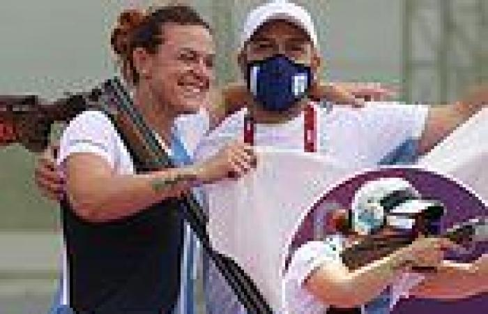 sport news Tokyo Olympics: Alessandra Perilli wins first Olympic medal EVER for San Marino ...