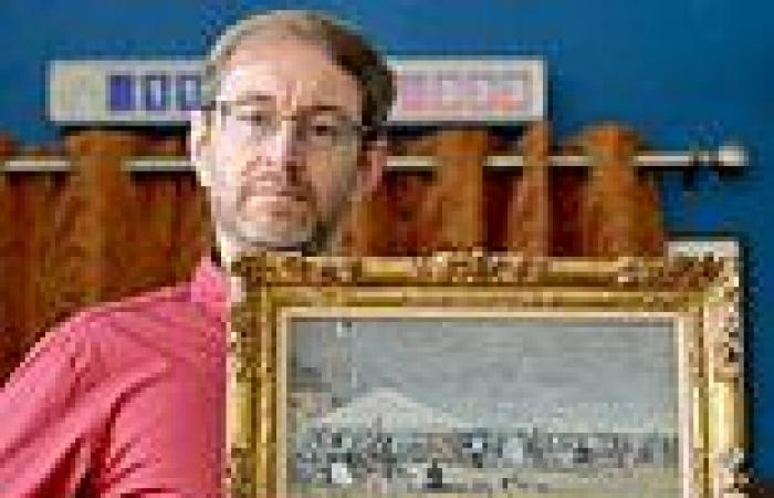 Antiques shop owner discovers painting is a rare work by Eugene Boudin whose ...