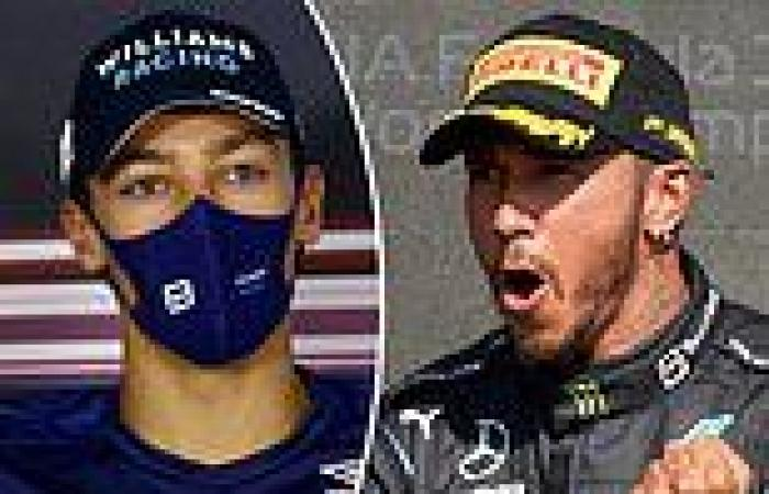 sport news George Russell shuts down claims that Lewis Hamilton is a 'dirty driver' after ...