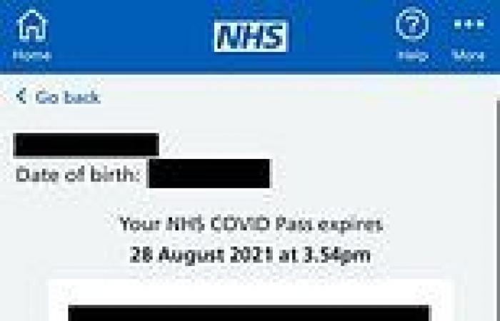 NHS App is updated for 'domestic' Covid passports