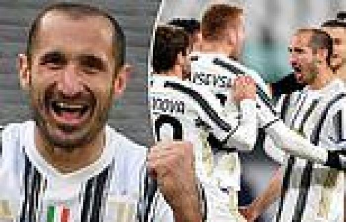 sport news Italy star Giorgio Chiellini confirms he will re-sign for Juventus as defender ...