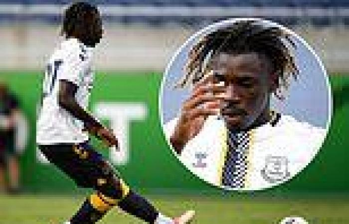 sport news Moise Kean bundles home the only goal for Everton as they beat UNAM Pumas 1-0 ...