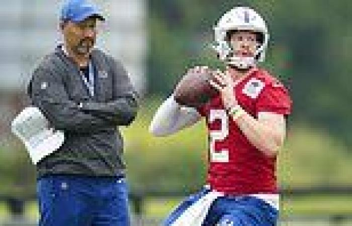 sport news Carson Wentz out 'indefinitely' as luckless Indianapolis Colts quarterback ...