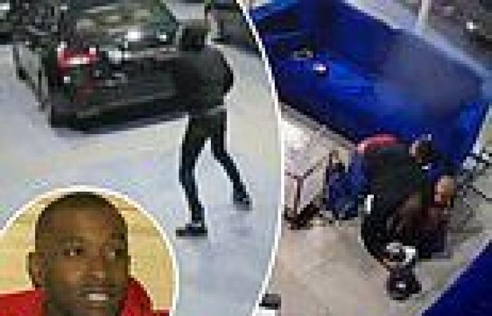 Seven men arrested over shooting of hero dad who shielded his kids from a stray ...