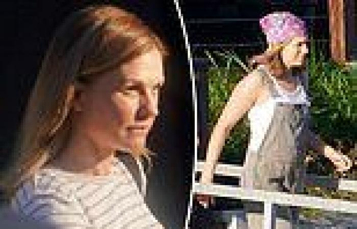 Hollywood actress Anna Paquin on the set of the Jessica Watson Netflix biopic ...
