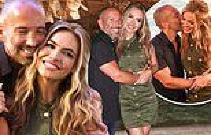 Chrishell Stause and her Selling Sunset boss Jason Oppenheim kiss in Rome, Italy